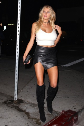 West Hollywood, CA - Model, Charlotte McKinney, is spotted at The Nice Guy late in the evening. The popular model showed off her very best assets while leaving the celeb hotspot with Stephen Dorff. AKM-GSI May 11, 2016 To License These Photos, Please Contact : Steve Ginsburg (310) 505-8447 (323) 423-9397 steve@akmgsi.com sales@akmgsi.com or Maria Buda (917) 242-1505 mbuda@akmgsi.com ginsburgspalyinc@gmail.com