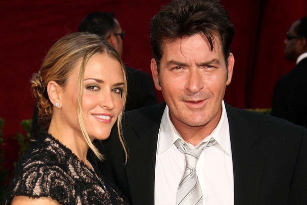 Actor-Charlie-Sheen-and-ex-wife-Brooke-Mueller