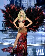 SHANGHAI, CHINA - NOVEMBER 20: Model Devon Windsor walks the runway during the 2017 Victoria's Secret Fashion Show In Shanghai at Mercedes-Benz Arena on November 20, 2017 in Shanghai, China. (Photo by Frazer Harrison/Getty Images for Victoria's Secret)