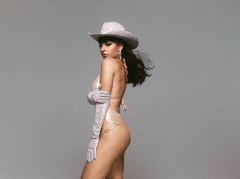 "Singer Charli XCX turns cowgirl as she stars in a rodeo-inspired campaign for lingerie brand Agent Provocateur. The 27-year-old features in the company's racy festive campaign ahead of Christmas. ""Nothing says Christmas like naughty and nice with a dash of cowgirl,"" said the star, real name Charlotte Emma Aitchison. ""I love all these pieces so much and this whole shoot day was so wild – so fun. It was a pleasure to work with such a legendary brand."" Editorial use only. Please credit AgentProvocateur.com/MEGA. 11 Nov 2019 Pictured: Charli XCX for Agent Provocateur. Photo credit: AgentProvocateur.com/MEGA TheMegaAgency.com +1 888 505 6342 (Mega Agency TagID: MEGA546719_009.jpg) [Photo via Mega Agency]"